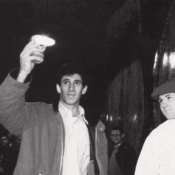 The 1997 cider season was opened by Julián Retegi